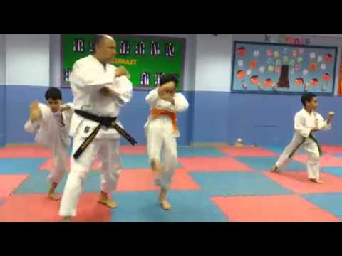 Karate in Kuwait Cambridge school