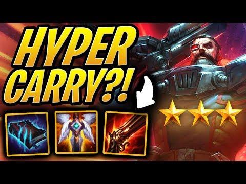 Hyper Carry Gangplank?!   Teamfight Tactics   TFT   League of Legends Auto Chess