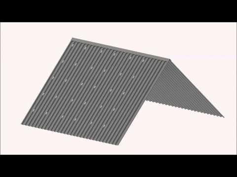 Staaldak bracket Solar Construct Nederland