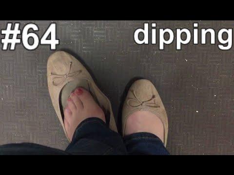 [AoS064] 👠 nylon shoeplay in the hardware store (POV)
