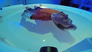 CBS This Morning | Sensory Deprivation by Floating