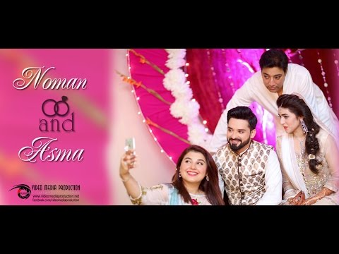 NOMAN HABIB & ASMA ENGAGEMENT HIGHLIGHTS BY VIDEO MEDIA PRODUCTION VMP KARACHI
