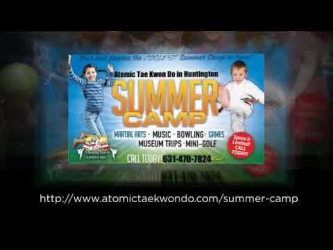 Martial Arts Summer Camp At Atomic Tae Kwon Do, Huntington, NY
