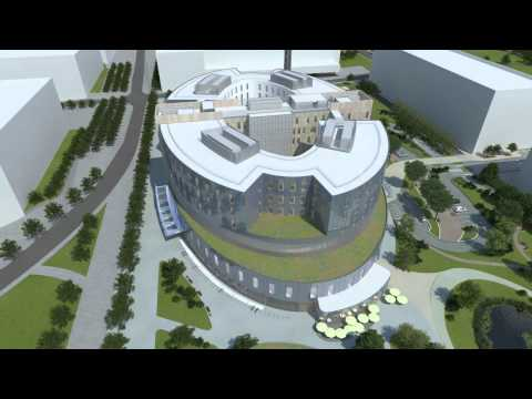 New Papworth Hospital - backed by EIB