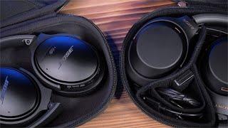 Сравнение наушников: Sony WH-1000XM3 и Bose QuietComfort 35 II