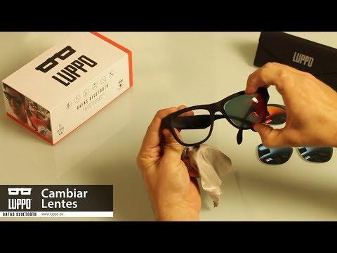 f63b68d963 LUPPO | CAMBIA LAS LENTES CUANDO QUIERAS. Luppo Gafas Bluetooth