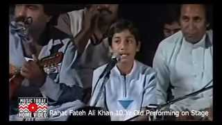 Download lagu Rahat Fateh Ali Khan as 10 Year Old Live Performance on Stage MP3