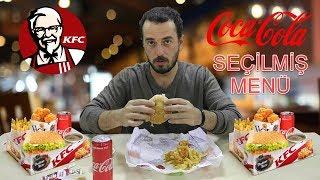 KFC | SEÇİLMİŞ Mİ MENÜ? | Ne Söyledik Ne Geldi | Tavuksever Burger + Hot Shots + Patates Kızartması
