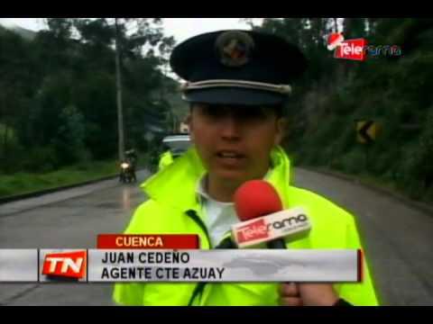 3 heridos en accidente de tránsito en Zhucay