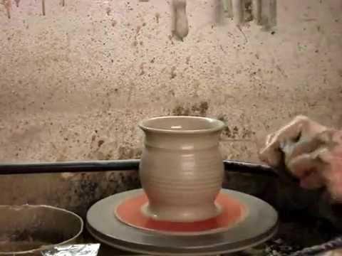 Throwing A Mug Throw 2 Clay Pottery Mugs On A Wheel In