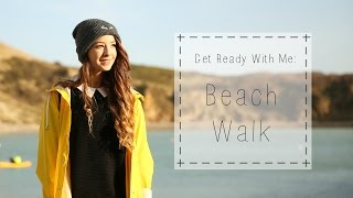 Get Ready With Me : Beach Walk | Zoella