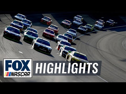 Playoffs Race #1 - Las Vegas | NASCAR on FOX HIGHLIGHTS