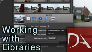 #FCPX 10.1 Tutorial - Working with Libraries