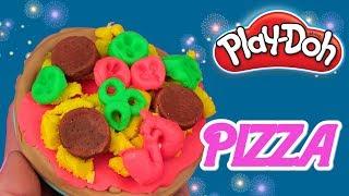 Play Doh Pizza  Challenge  bajka po polsku