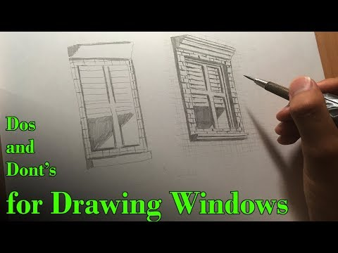 Dos And Dont's Of Drawing Windows + Buildings (Comic Book Style)