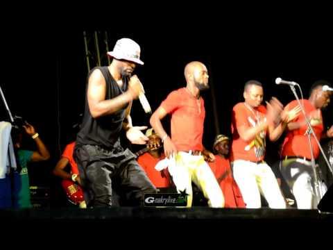 Le grand concert de FALLY IPUPA à Conakry sur l'esplanade su Palais du peuple
