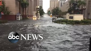 Massive storm surge and flash flood emergency in Jacksonville