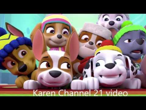 Paw Patrol Tribute For Karen Chanel 21 Happy Birthday By Paw Patrol