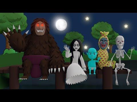 Kompilasi Kartun Horor Lucu Kuntilanak, Tuyul, Pocong, Genderuwo, Jerangkong #06