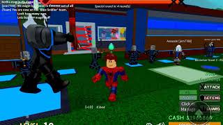 Roblox faction defense haveing worlds best rebirth showing all stuff