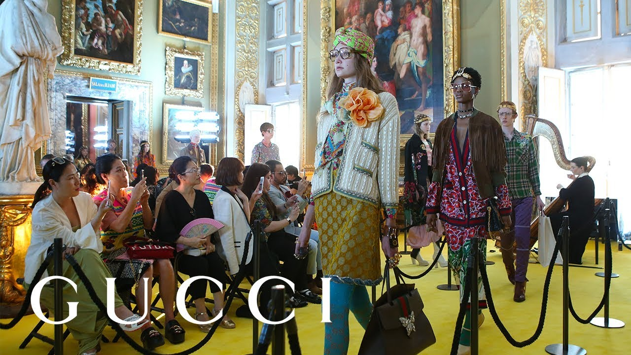Gucci Cruise 2018 Fashion Show: Full Video