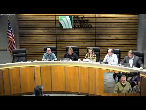 City of West Fargo March 19, 2018 City Commission Meeting