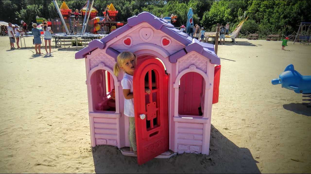 Playground and Children play house Playhouse Kids playhouse