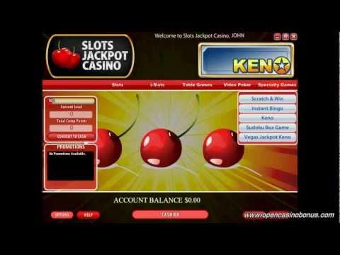 Slots Jackpot Casino Review - OpenCasinoBonus.Com