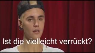 Justin Bieber reagiert auf Katjas video