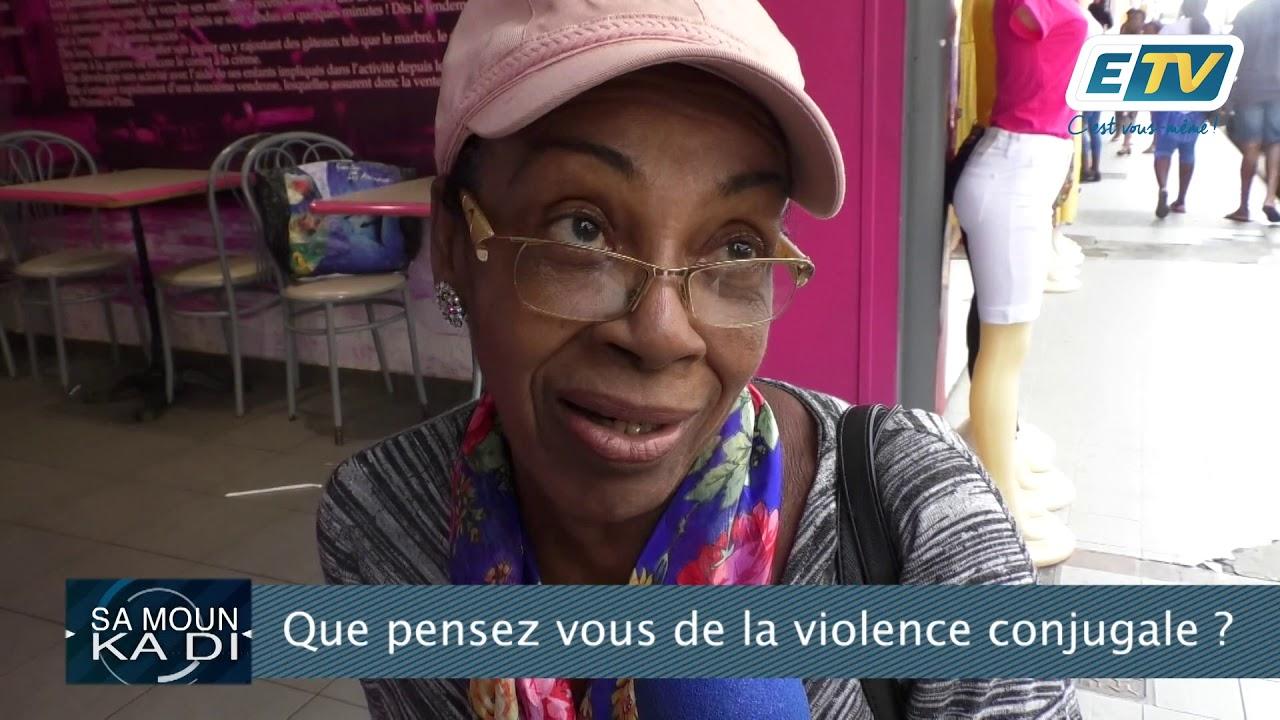 Sa Moun Ka Di: La violence conjugale