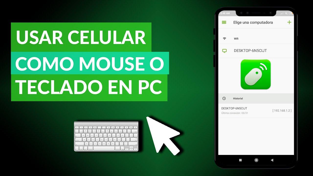 Cómo Usar un Celular Android como Mouse o Teclado en PC