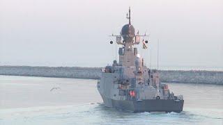 Каспийская флотилия ВС РФ начала тактические учения
