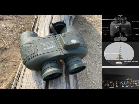 กล้องส่องทางไกลวัดระยะทาง Military Marine BAK4 Optics Binoculars