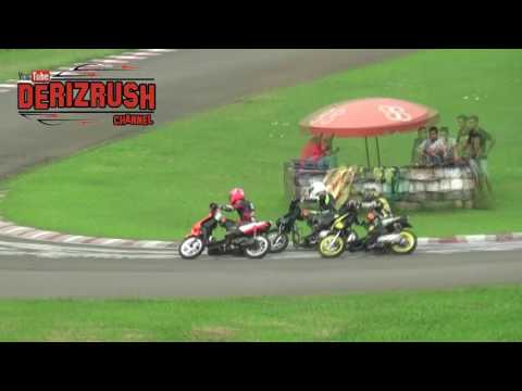 Yamaha mio vs Honda beat / road race
