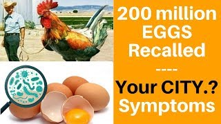 ✅ Egg Recall: Symptoms of Salmonella + List of 2018 brands Romaine Lettuce,Coburn Farms,cdc,lettuce