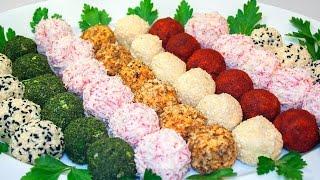 Праздничная закуска «Сырные шарики» 5 вкусных рецептов!