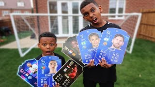 ULTIMATE TEAM DRAFT PACKS IN REAL LIFE! Football Challenge FIFA 19