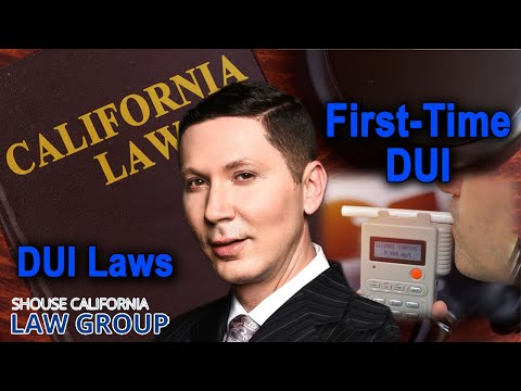 1st Time DUI in California