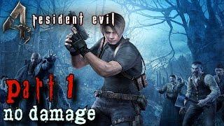 Resident Evil 4 HD Walkthrough Part 1 - The Village - No Damage