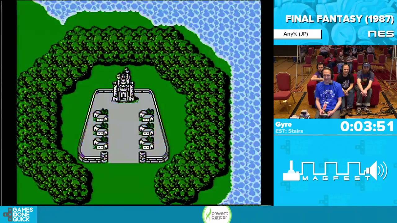 Final Fantasy By Games Done Quick Awesome Games Done