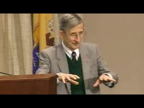 Freeman Dyson posits QM cannot be a complete description of nature @ J.A. Wheelers 90th b
