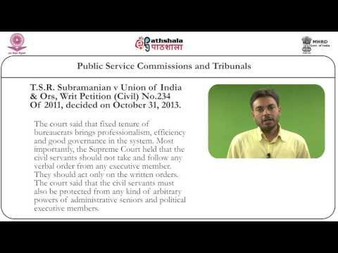 Public service commission and tribunals