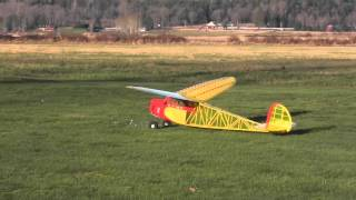 "Flying 120"" Comet Clipper Old Timer RC Model"