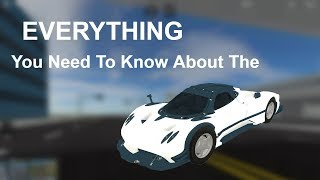 EVERYTHING You Need To Know About The Pagani [Roblox]
