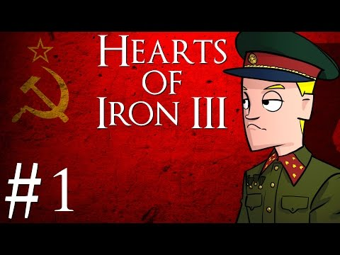 Hearts of Iron 3 | Black ICE 8.4 | Soviet Union | Part 1 | Getting Set Up