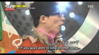 [Running man] Kwang Soo out of breath
