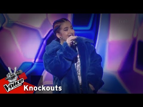 Jane - Bodak Yellow | 3o Knockout | The Voice of Greece
