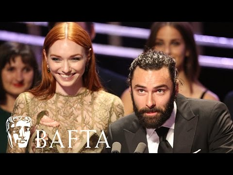 Poldark Wins Radio Times Audience Award | BAFTA TV Awards 2016