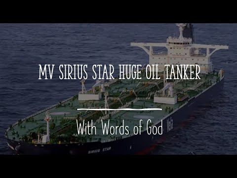 MV Sirius Star huge oil tanker and a big allegory