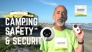 Ep. 140: Camping Saḟety & Security | RV monitoring remote cameras